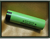 Panasonic 18650 Battery x2